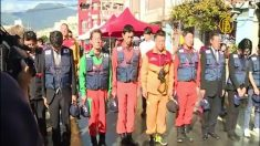 日本専門家チームが帰国へ 台湾救助隊の努力を評価=台湾地震