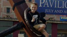 【感動】妹の誕生までガンと闘った9歳の少年