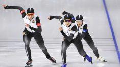 女子団体追い抜き、日本が決勝へ