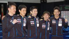 卓球W杯、日本男子が初の決勝へ