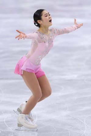 「思ったよりも楽しく滑れた」 宮原、五輪デビューで笑顔