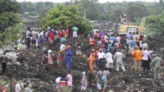 ごみの山崩れ住民17人死亡