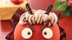 節分に赤鬼をイメージした「鬼ケーキ」はいかが?