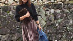 パンツ派の方も! 冬コーデにマンネリを感じているならロングスカートが使える!