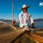 メキシコ人の漁師とアメリカ人ビジネスマン