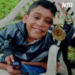 骨粗鬆症の少年、パラリンピックで金メダル獲得