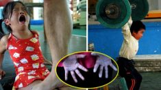 五輪強国の中国 過酷な訓練現場の写真