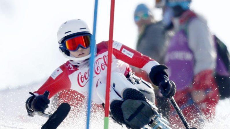 平昌パラ、村岡は銅でメダル3個 アルペン、男子の鈴木は4位