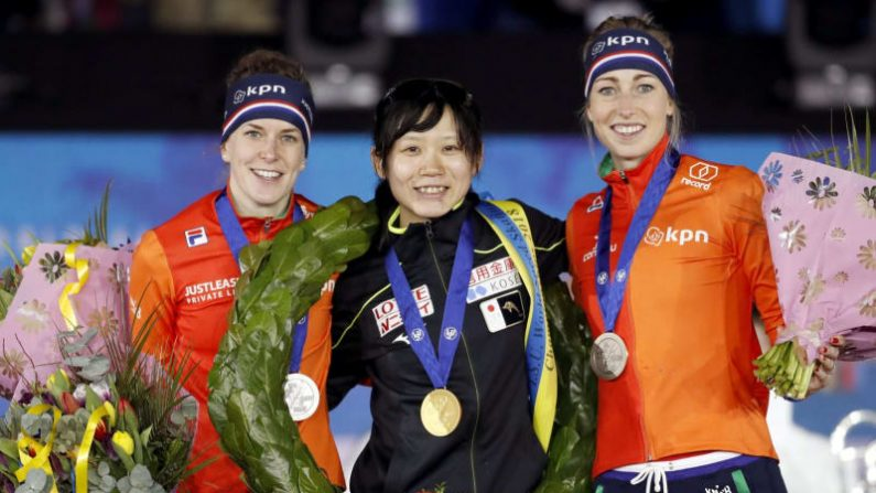 高木美が日本勢初優勝 スピード世界選手権