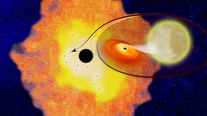 巨大ブラックホール周辺にさらに数千個、銀河中心の構造を確認