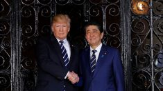 日米首脳会談、トランプ氏「米朝はハイレベルな対話開始」