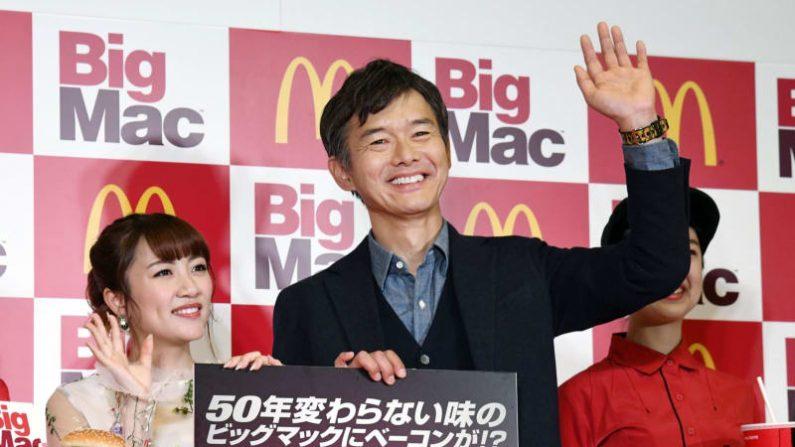 渡部篤郎「週3でマック」 たかみなと新商品に舌鼓