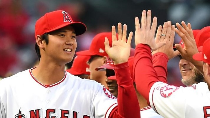 MLB=エンゼルス大谷、4月の月間最優秀新人に