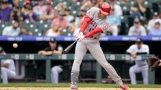 MLB=大谷が代打でヒット、田中は5回途中4失点