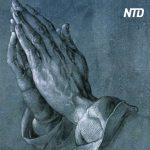 天才画家の作品「祈りの手」、感動の誕生秘話