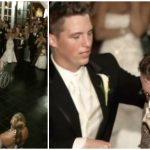 母と息子の心温まるウエディング・ダンス