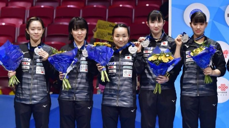 卓球日本女子、47年ぶりV逃す 世界選手権団体戦、中国4連覇