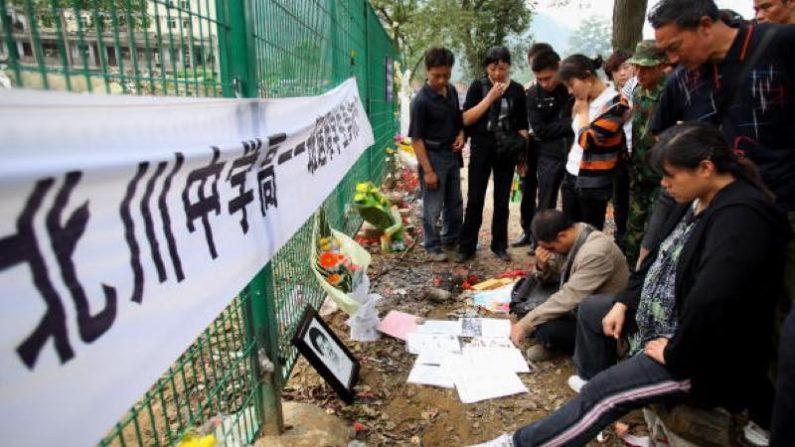 震災地取材の香港記者、何者かに暴行される