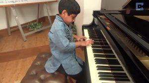 11歳の天才ピアニスト