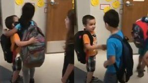 【動画】あいさつはしつけの基本 当番制で特訓する幼稚園