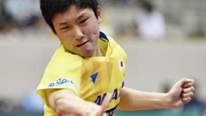 卓球、張本が五輪王者破る 荻村杯ジャパンOP