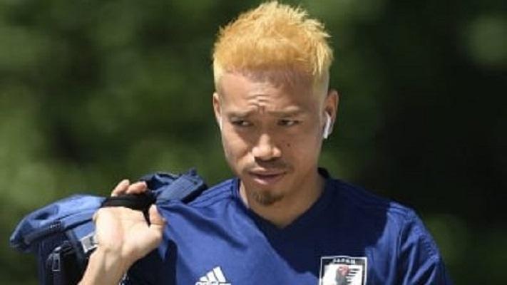 突如金髪になった長友!苦境の日本を救えるのか