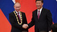 中国国家主席、ロシア大統領に友好勲章授与 緊密関係を強調