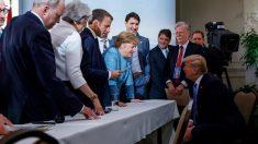 G7首脳宣言採択、トランプ大統領が一転拒否 自動車関税も示唆