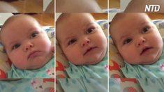 【動画】ママの美しい歌声に、不機嫌な赤ちゃんもニッコリ