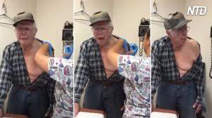 【動画】93歳のおじいちゃんだって 予防接種はこわい!?
