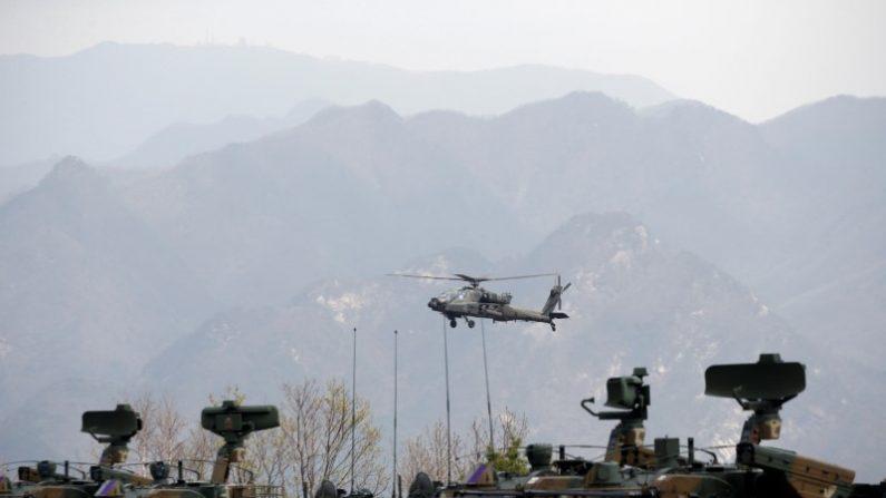 中止された米韓合同軍事演習、費用は1400万ドル前後=米政府高官