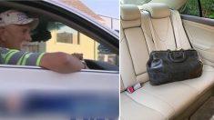 【タクシー】置き忘れられたカバンに2000万円!あなたが運転手なら?