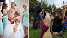 【写真集】結婚式で主役の座をうばってしまった子どもたち