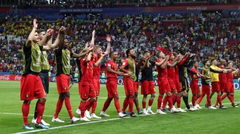サッカー=ベルギーがブラジルに勝利、32年ぶりW杯4強入り