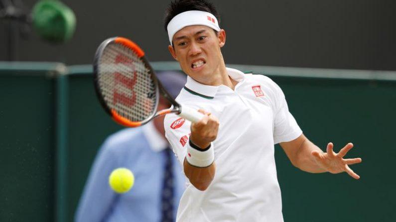 テニス=錦織が準々決勝進出、ウィンブルドン