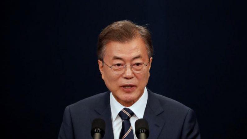 北朝鮮の対米批判、交渉戦略の一環=韓国大統領