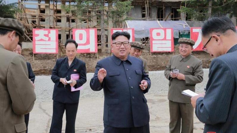 北朝鮮の金委員長が米大統領に書簡、米朝の「新しい未来」に期待