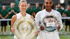 テニス=ケルバーがウィンブルドン初優勝、決勝でセリーナ下す