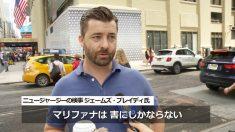 【動画ニュース】NYマンハッタンでマリファナ合法化進む 市民に憂慮の声