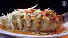 【絶品グルメ】中華鍋で泳ぐ魚~海原雄山も絶賛の『中華風魚フライ』