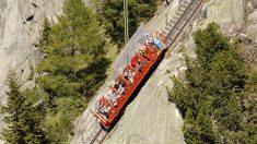 まるでジェットコスター スイスで最も急な乗り物に乗ってみたい?