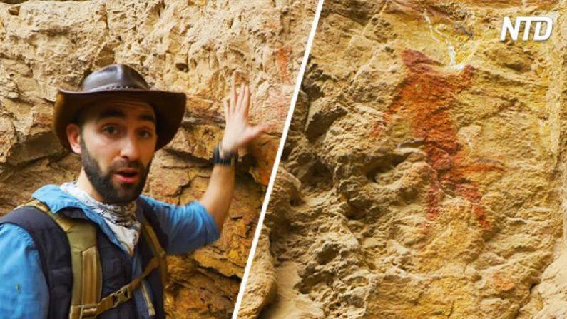 【探検】ユーチューバーさん、南アで数百年前の謎の壁画を見つけてしまう
