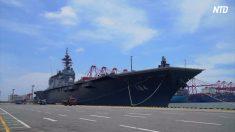 【動画ニュース】海上自衛隊の護衛艦がスリランカに到着 軍事演習により中国をけん制