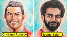 【芸術】歯磨き粉アートを知っていますか? ワールドカップ選手肖像画集