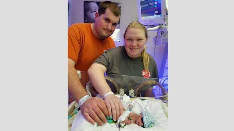 【運命】多嚢胞性卵巣症候群のママから生まれた411gの赤ちゃん