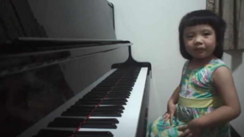 【アート】才能に勝る努力なし 3歳の天才少女ピアニスト