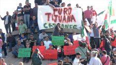 【動画ニュース】移民キャラバン 国境の町に続々到着メキシコで不法移民反対の抗議デモ