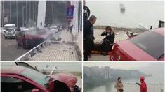 【動画ニュース】重慶のバス転落事故 原因は乗客と運転手の喧嘩