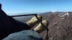 【ホラー】パラグライダーで墜落した男性 とんでもないエリアに迷い込む