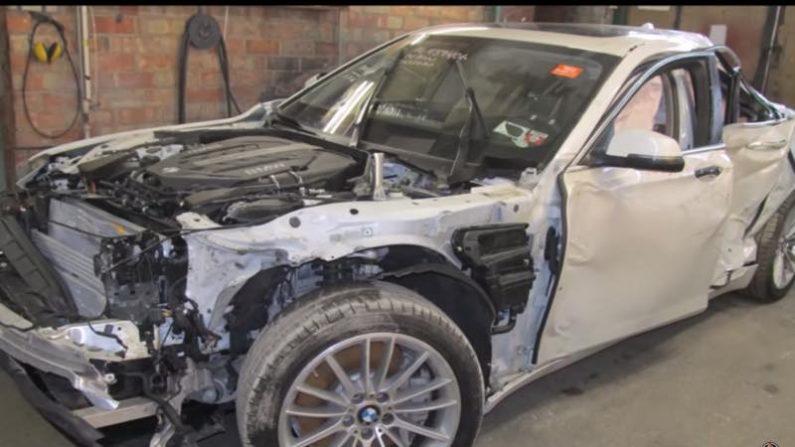 【神技】廃車寸前のBMWを新車同様に再生した天才修理工